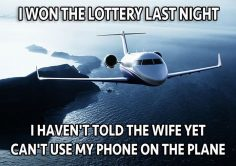 I Won the Lottery